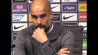 Pep Guardiola post match press conference Manchester city 5-0 Burnley.
