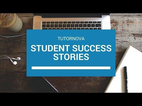 Tutornova Student Success Stories - Testimonial Video