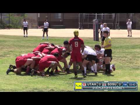 SDSU Aztecs vs University of Utah, Playoff Rugby