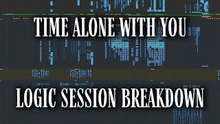 "LOGIC SESSION BREAKDOWN: ""Time Alone With You (feat. Daniel Caesar)"""