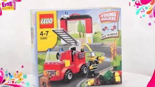 Lego Криэйтор тушение пожара 10661
