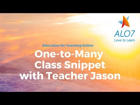 ESL Online Teaching- One-to-Many Class ALO7
