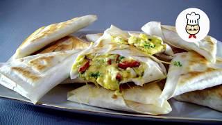 САМАЯ ВКУСНАЯ ЗАКУСКА В ЛАВАШЕ для пикника / Простые рецепты - Волшебная еда