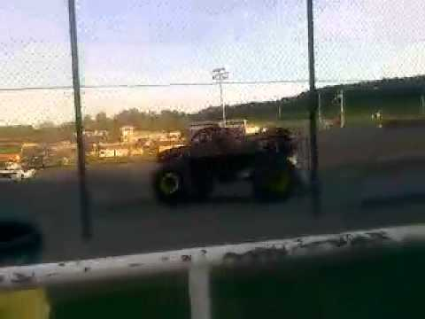 Krazy Train Monster Truck at Black Rock Speedway