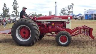 Some of the Tractors at Kingaroy and District Vintage Machinery Club 2015 Rally