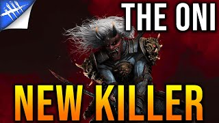 Patch 3.4.0 New killer The Oni. Power, Perks, and Mori! Killer Gameplay