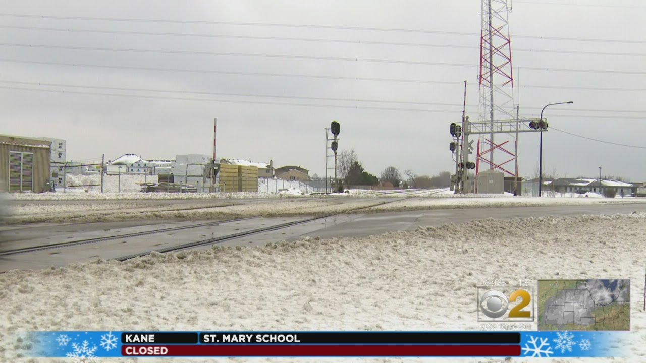 Cold Weather Blamed For Broken Train Rail In Mokena