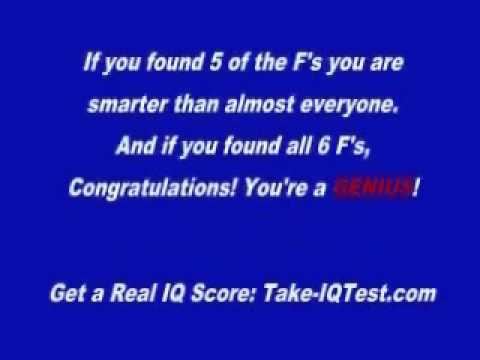 Test Iq Online 10 Second Iq Test Video