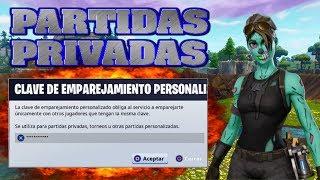 🔴 JUGANDO  PARTIDAS PRIVADAS CON SUBS - UNETE !! FORTNITE BATTLE ROYALE