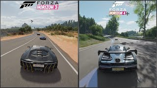 Forza Horizon 3 vs Forza Horizon 4 - Early Gameplay Comparison