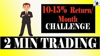 10-15% Return Per Month Challenge | Intraday Strategy