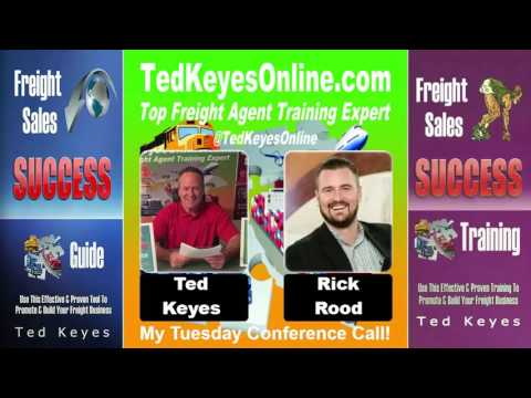 [TKO] ♦ Freight Sales Expert Guest - Rick Rood ♦ TedKeyesOnl