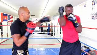 LB Kickboxing Fight Tip of the Week Footwork with Punches