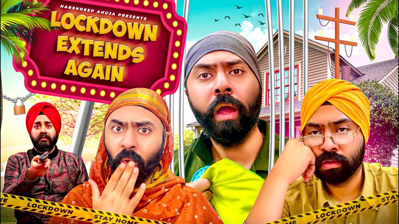 Lockdown Extends Again | Harshdeep Ahuja ft. @Mister Param