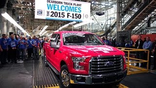 Ford Rolls Out the New F-150 Pickup