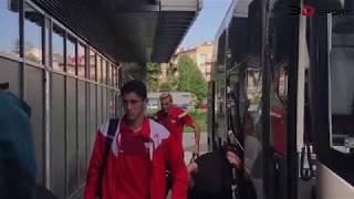 E: Cracovia - Pogoń Szczecin [Przyjazd piłkarzy]. 2018-05-19