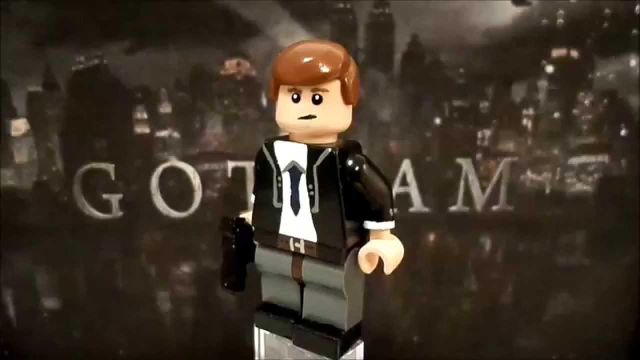 Custom Lego Gotham James Gordon Showcase YouTube
