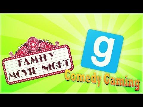 GMOD - Movie Theater - Family Movie Night - Comedy Gaming