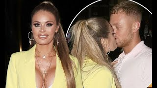 TOWIE's Chloe Sims passionately kisses newcomer Adam Oukhellou