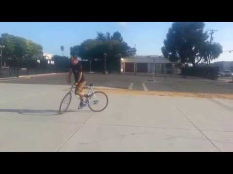 Fixie Tricks! angle 2 Richmond Fixed Soldiers! Rich City Rides!