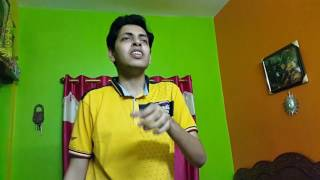 Dil ibadat song covered by Riju Chakraborty with karaoke