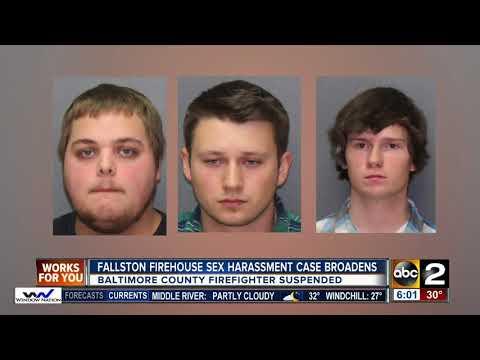 Fallston firehouse sex harassment case broadens