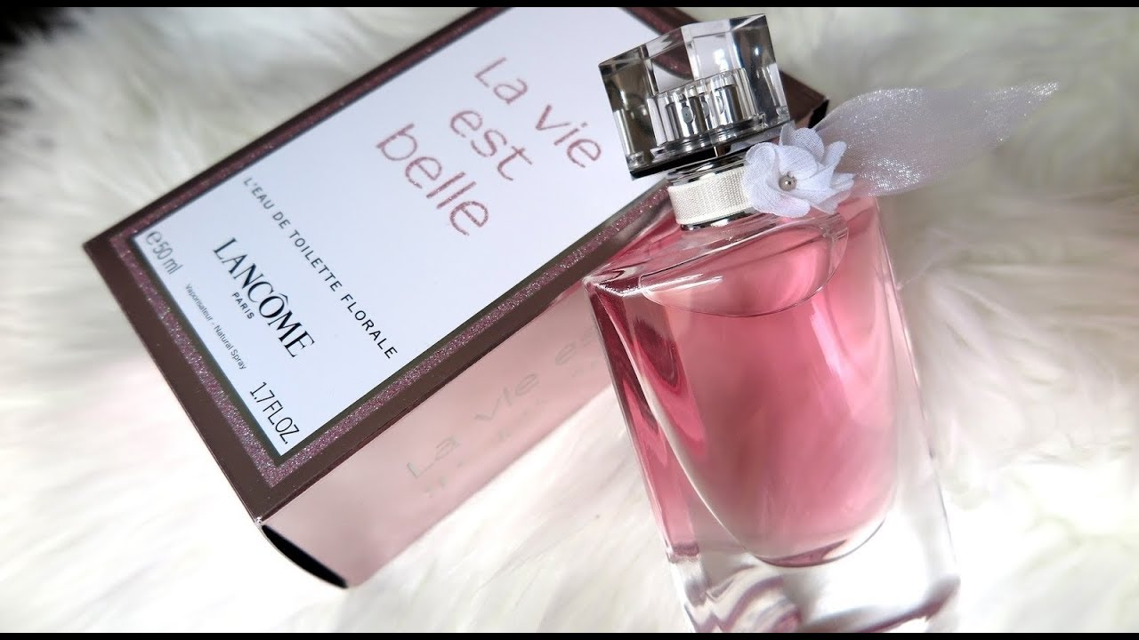 perfume la vie est belle florale lancome resenha youtube. Black Bedroom Furniture Sets. Home Design Ideas