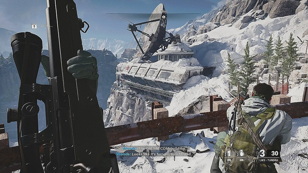 Winter Sniper Mission - Call of Duty Black Ops Cold War