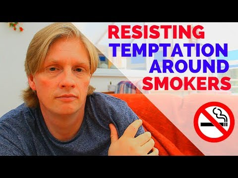 Quitting Smoking?  Surrounded by Smokers?  Watch This!