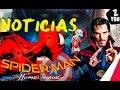 #4 Ultimas noticias: Spider-Man: Homecoming, doctor strange, Capitán América: Civil War