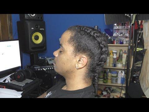 2 Jumbo Braids | Men Natural Hair