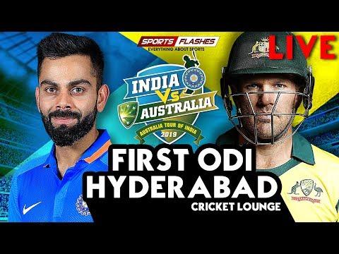 Live IND vs AUS 1st ODI Cricket Match | SportsFlashes