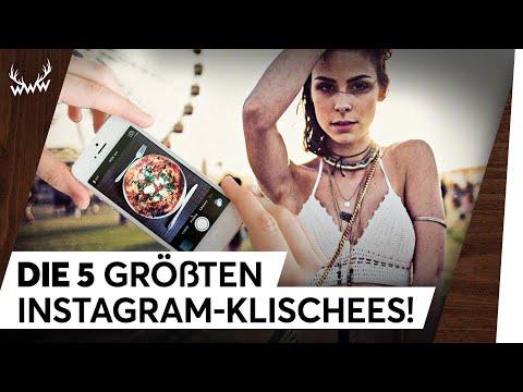 DIE 5 GRÖSSTEN INSTAGRAM-KLISCHEES! | TOP 5