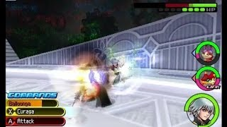 KH3D Young Xeahnort boss battle (No damage 1st phase) [Clock beat 1st attempt] Proud Mode