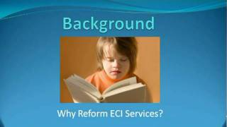 Dr Tim Moore ECI Reform Literature Review Background Pt 1 Thumbnail