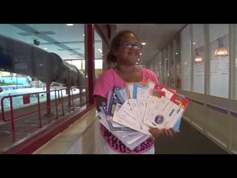 Niet te stoppen: Cheyenne (11) zwemt af voor haar negentiende zwemdiploma