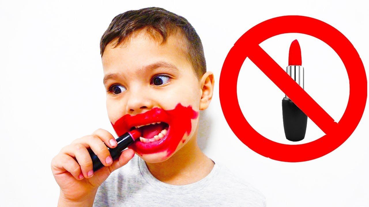 Егорка и правила поведения для детей