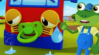 Boo Boo Song – Baby Truck Is Crying!・Gecko's Garage・Truck Cartoons For Kids・Learning For Toddlers
