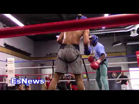 ((MUST SEE)) Boxing Stars Epic Trash Talk While Sparring EsNews Boxing