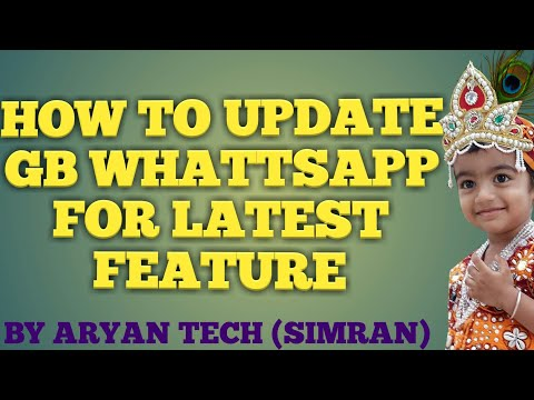 HOW TO UPDATE WHATTSAPP FOR LATEST FEATURE