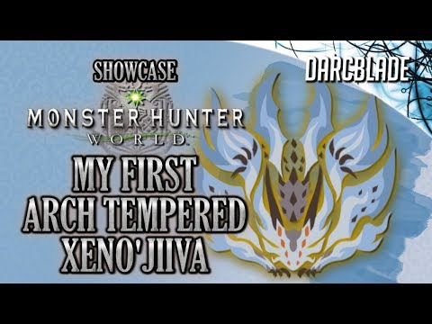 My First Arch Tempered Xeno'jiiva Experience : Monster Hunter World thumbnail