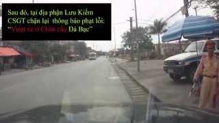 Vượt xe tại Chân cầu - CSGT Hải Phòng phạt lỗi !???
