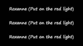 The police Roxanne + lyrics