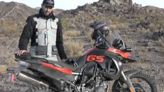 Product Tests - BMW F800GS, 2009 Barstow to Vegas Dual Sport