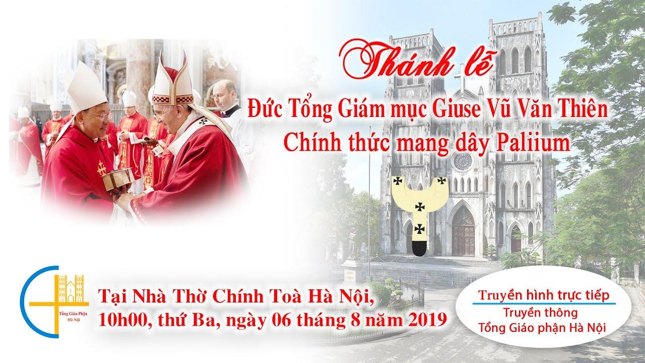 [TRỰC TIẾP] Thánh lễ Đức TGM Giuse Vũ Văn...