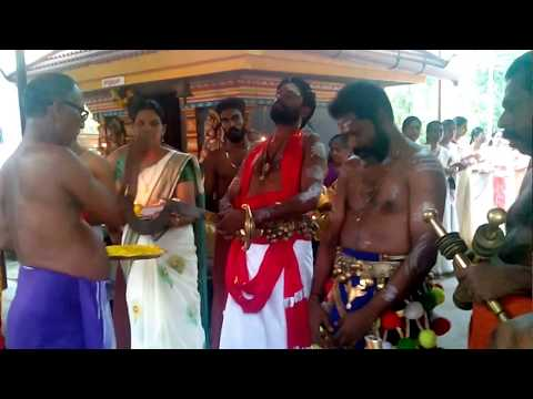 Vayiloppilly devasthanam, Annual festival 2018 - Kalamezhuthu pattu - Ezhunnellippu.