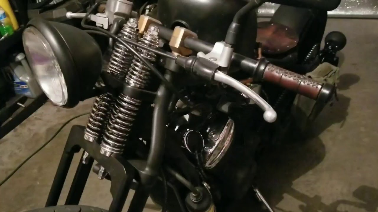 How to Motorcycle signal switch relocation mod