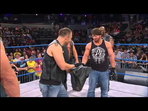 Does AJ Styles Patch in With Aces And 8s Or Will he Walk Alone? - May 23, 2013