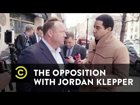 False Flag: Is a Crisis Actor Posing as Alex Jones? - The Opposition w/ Jordan Klepper