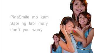 Pinasmile by Kathryn Bernardo and Daniel Padilla KathNiel with lyrics